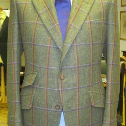 Savile Row Tailor Scottish Tweed